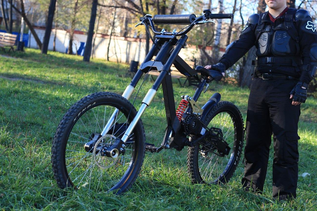 Велосипед своими руками фото