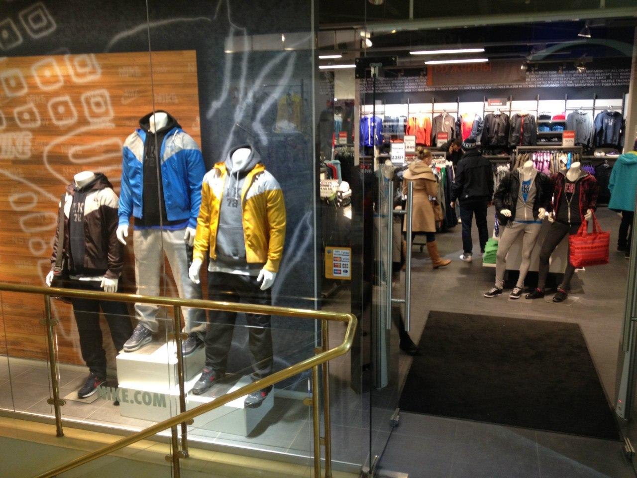 1670a967 Nike Factory Store Новослободская