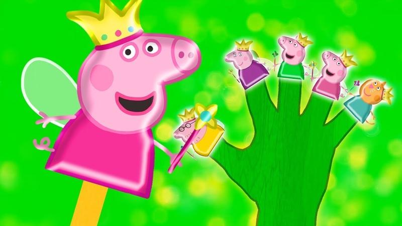 The Finger Family Song | Pepa Pig Nursery Rhymes Songs For Children