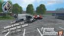 Farming Simulator 2015 Обзор обновы на приват мод Камаз v8,прицепа Карина и топливозаправщика