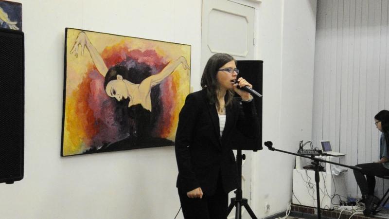 Мария Денисова raphael gualazzi кавер follia d'amore творческий вечер в Туле 23 9 17