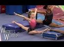 Тренировка гимнасток Whitney Bjerken Gymnastics