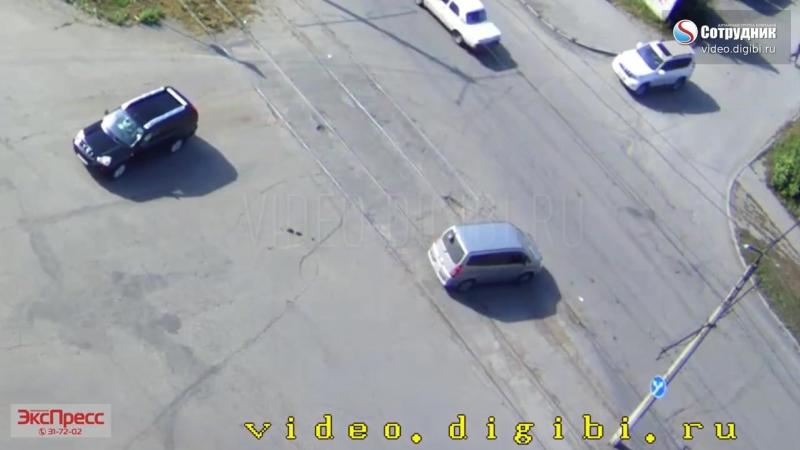 ДТП с мотоциклом Бийск 07_09 Соц-кая Ударная
