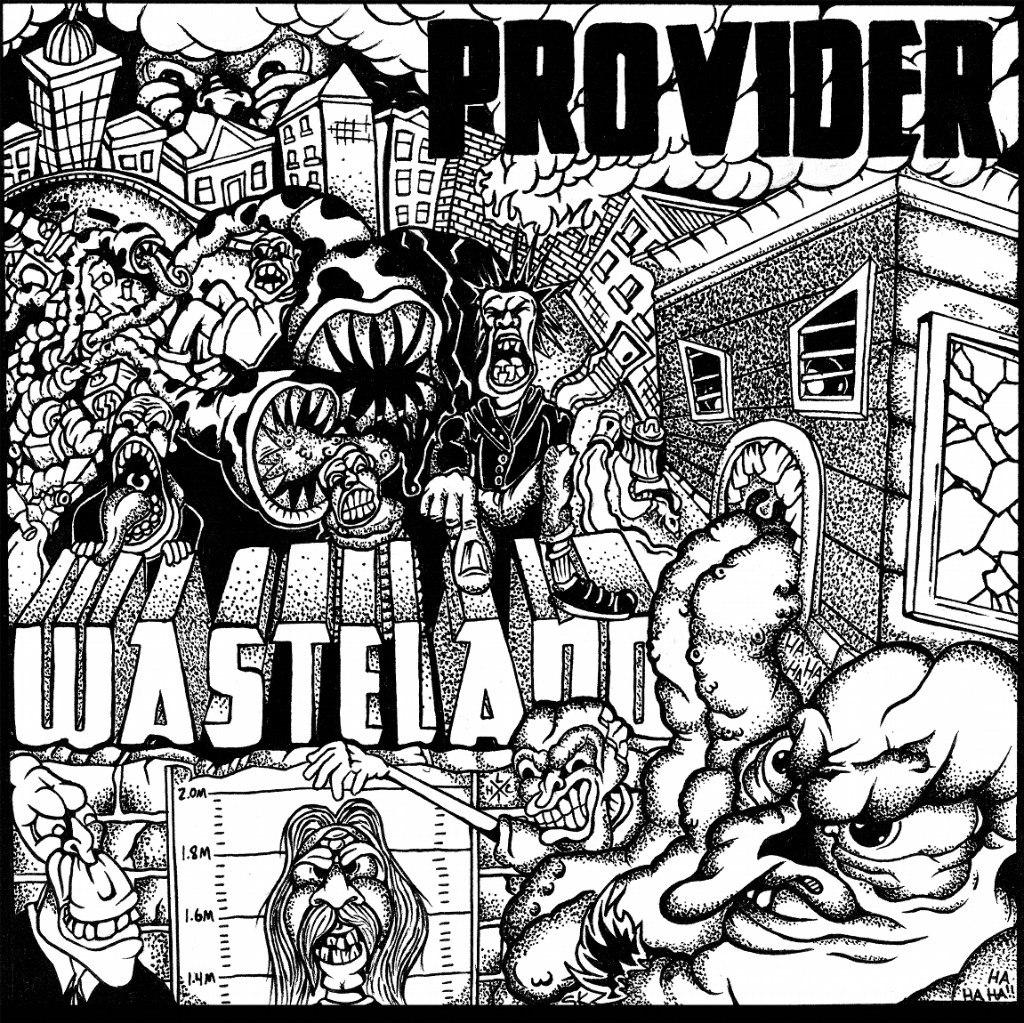 Provider - Wasteland [EP] (2012)