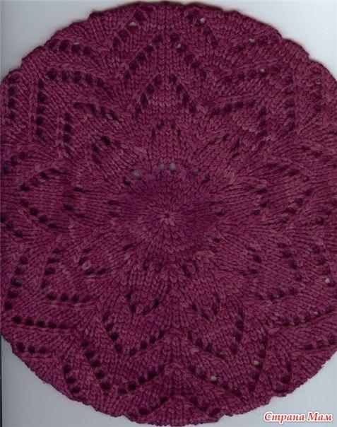 针织:紫色帽子 - maomao - 我随心动