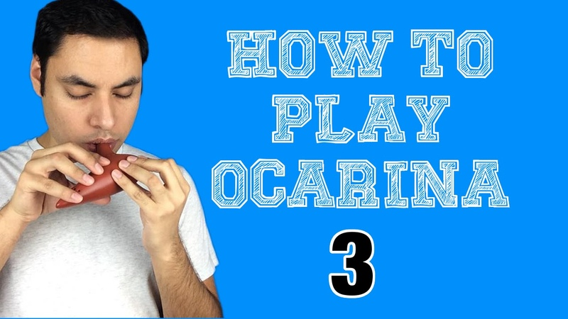 How to Play Ocarina - Part 3: First Five Notes (C-G)
