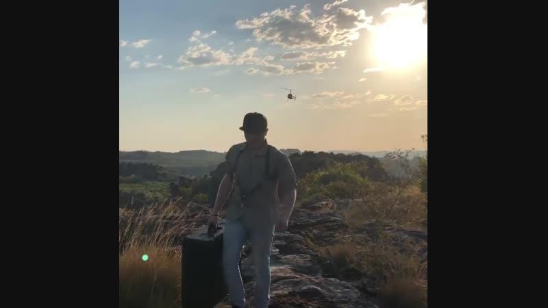 Подготовка к съемкам с дронов для фильма High Ground в Арнеме