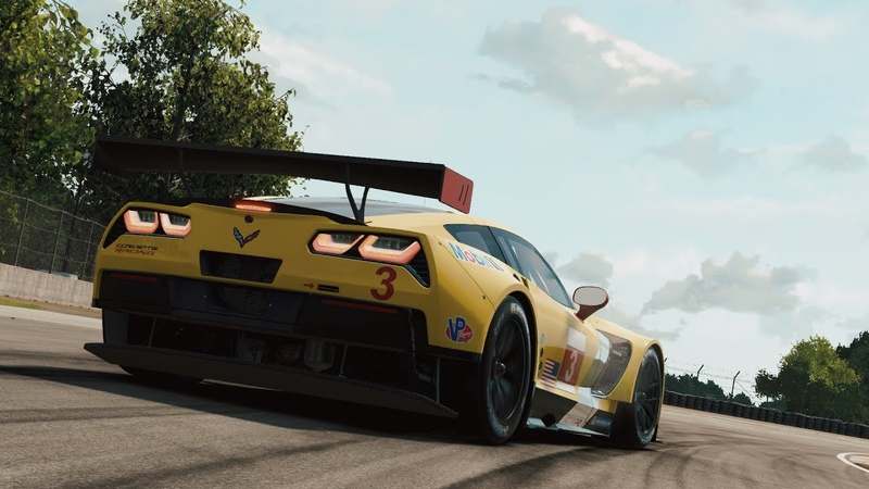 Project CARS2: Chevrolet Corvette C7.R - Road America test (G29)