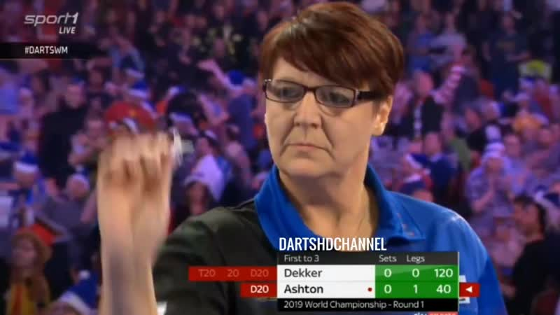 2019 PDC World Championship | Round 1 | Ashton v Dekker