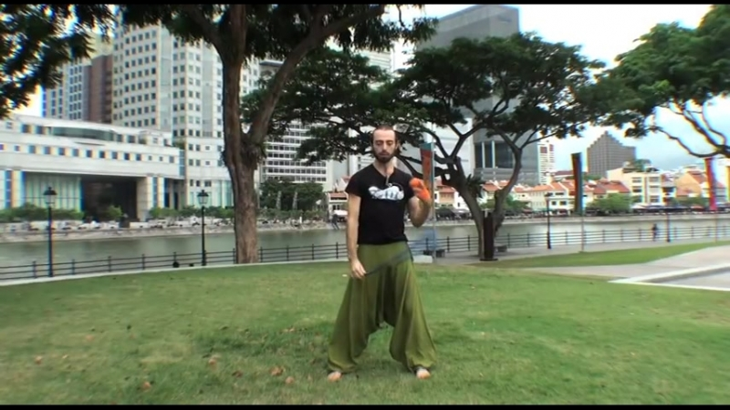 "Nick Woolsey - playpoi - Poi Spinning Lesson Pendulum Antispin Swooshy Uppy Thing (AKA ""Tick-Tock""))"
