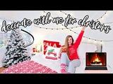 DECORATE WITH ME FOR CHRISTMAS 2018! CHRISTMAS ROOM TOUR Sarah Jane