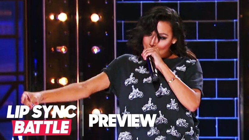 """Naya Rivera Throws Shade w/ Big Sean's """"I Don't F*** With You""""   Lip Sync Battle Preview"""