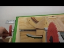 Циркулярный станок из простых материалов от Cosmas Bauer