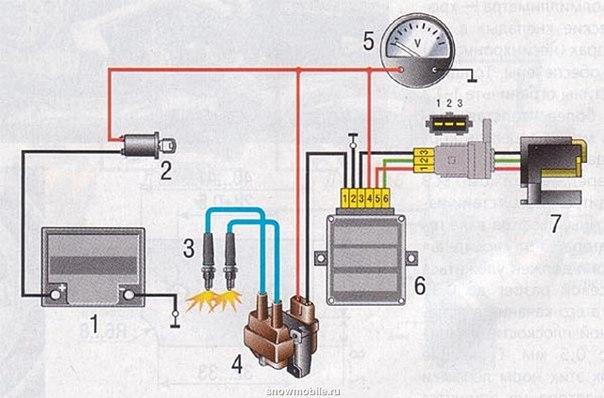схема проводов коммутатора на