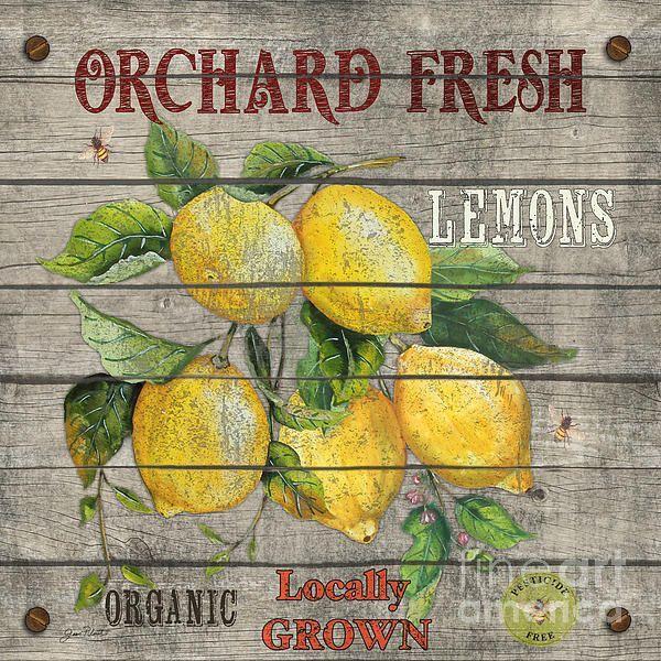 Картинки для декупажа лимоны картинки