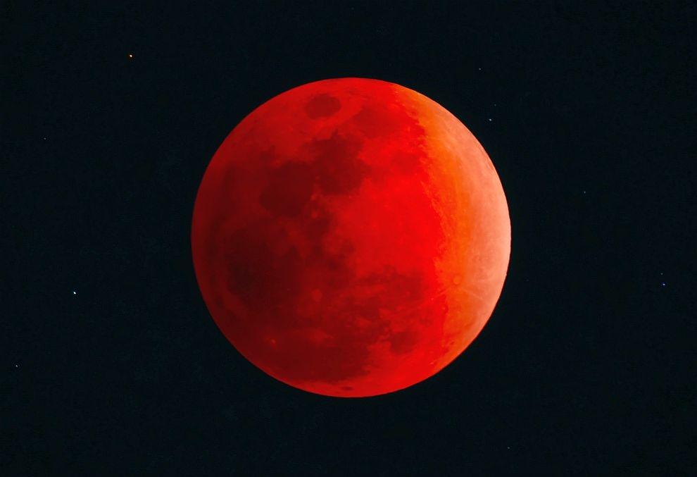 Лунное затмение 21 января 2019: будет последняя кровавая Луна до 2022 года