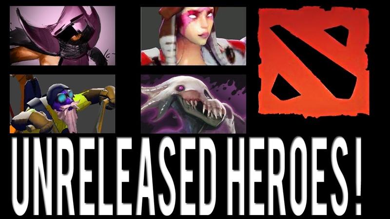 Dota 2 Unreleased Lanaya, Gyrocopter, Bane and Mortred