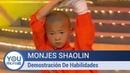 Monjes Shaolin Demostración De Habilidades