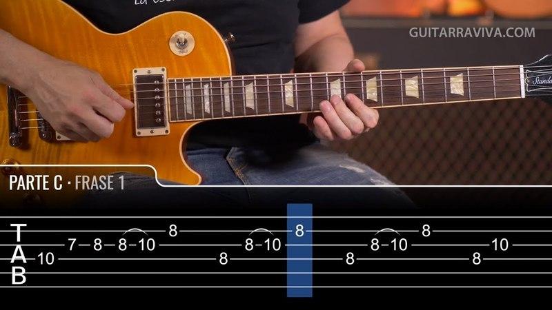 EUROPA de Carlos Santana (GUITAR COVER) con Tabs Grandes melodías de guitarra | Guitarraviva