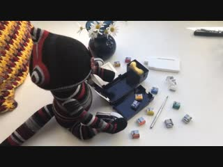 Nosuni stopmotion test Winsor & Newton
