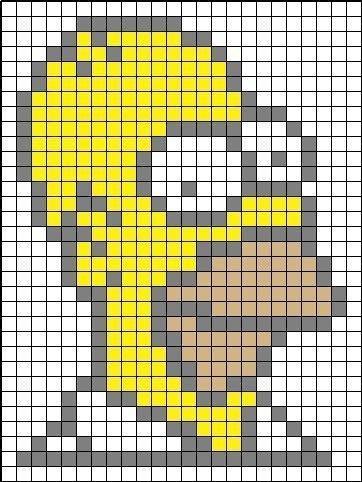 Пиксель-Арт~Схемы для Копатель