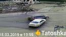 Очередная авария от 18 марта 2019 на все том же месте