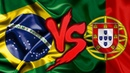 Brasil VS. Portugal | Combate de Rimas | Part. Tenkai