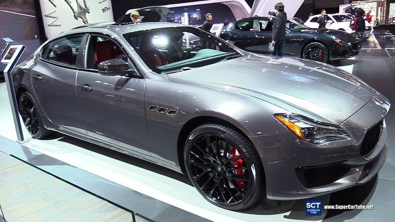 2018 Maserati Quattroporte GT S Black Edition -Exterior Interior Walkaround -2018 New York Auto Show