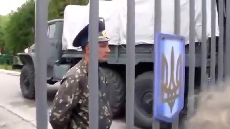 Над Славянском тучи ходят хмуро... Край Донецкий пламенем объят...