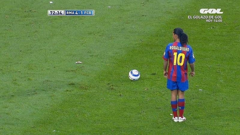 9 Vezes que Ronaldinho Gaúcho Chocou a Espanha!
