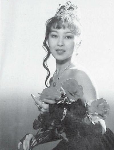 1-я Вице-мисс России 1995 Делгир Церенова