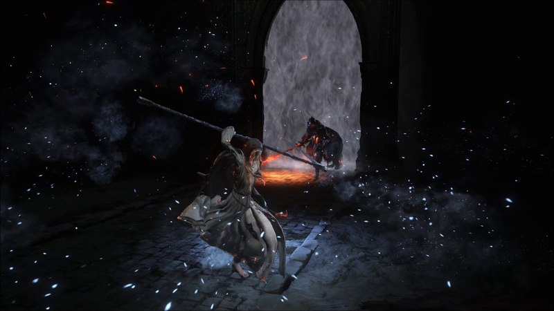 Sister Friede vs Abyss Watchers (X15 HP) [DS3 Boss VS Boss]