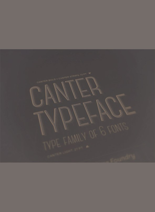 Download canter font (typeface)