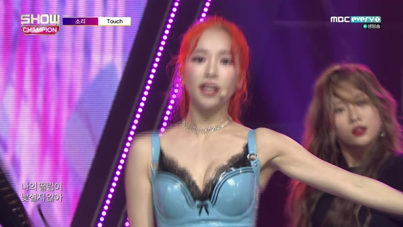 [Comeback Stage] 180919 Sori (소리) - Touch (터치)