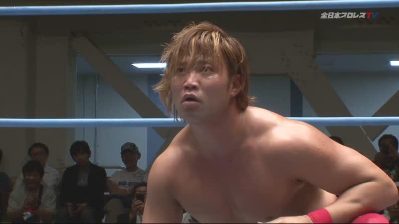 Kento Miyahara vs. Yuji Okabayashi (AJPW Champion Carnival 2019 - Day 16)