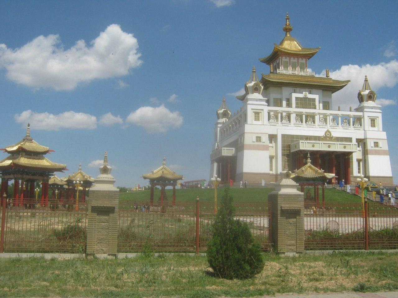 Хурул - главный храм Элисты