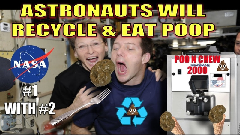 NASA TECH TURNS POOP INTO FOOD THIS COULD END WORLD HUNGER!