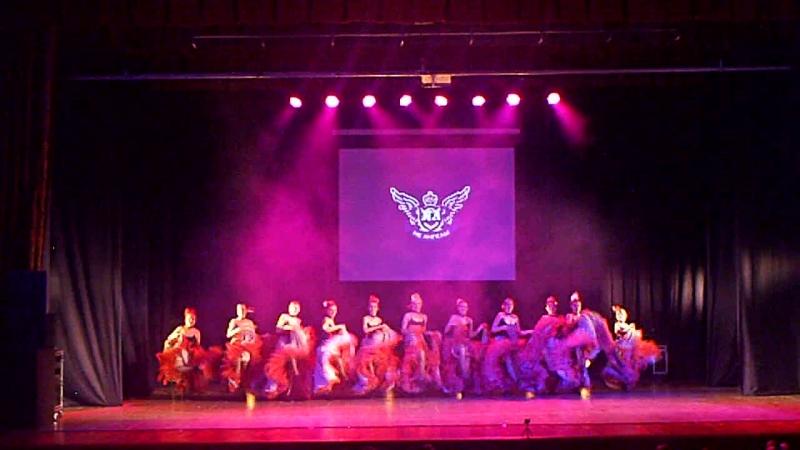 Отчетный концерт студии танцев Не Ангелы. 29 апреля 2018 год. LadyStyle. Кан-Кан. Педагог Александра Царук