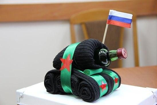 Подарок мужу танкисту