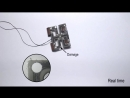 An autonomously self healing soft robot