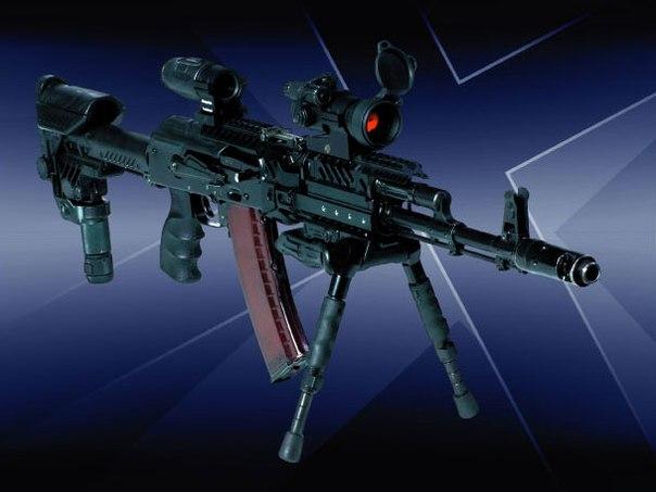 новый способ модернизации автоматов АК-74