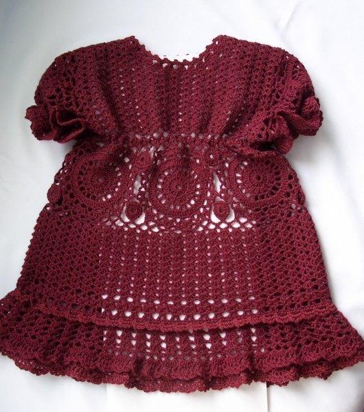 Платье для малышки (4 фото) - картинка