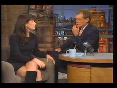 Sandra Bullock on The Late Show 1995 Part 1