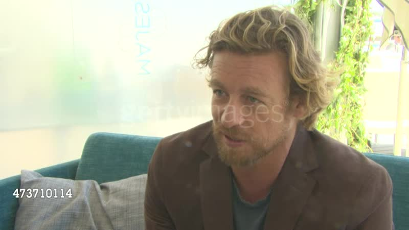 Simon Baker on working as a director at Simon Baker Interview at Majestic Hotel on May 15, 2015 in Cannes, France.