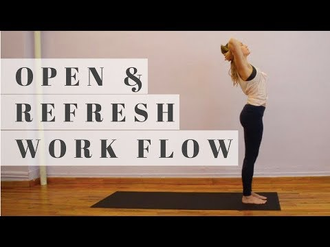 During or After Work Yoga Slow Reset Flow