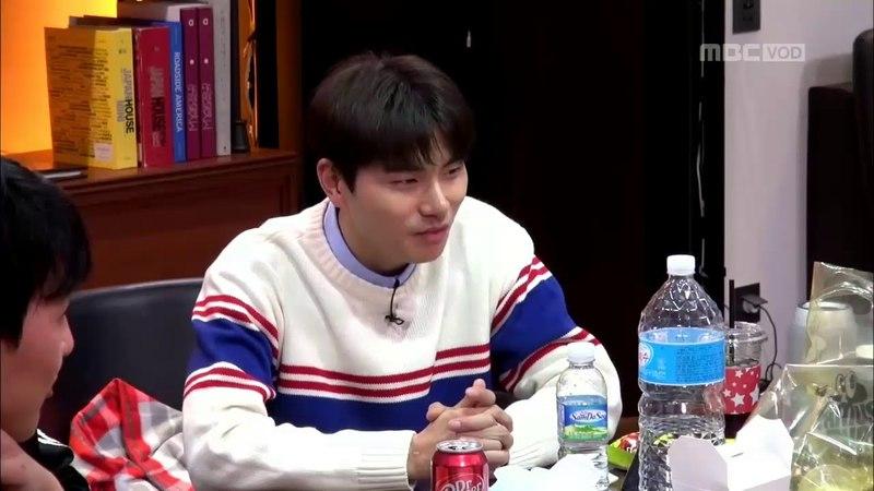 MBC 이불 밖은 위험해 확장판 미공개-강다니엘 손가락 농구(18.04.12)