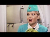 Алла Михеева становится стюардессой S7 Airlines