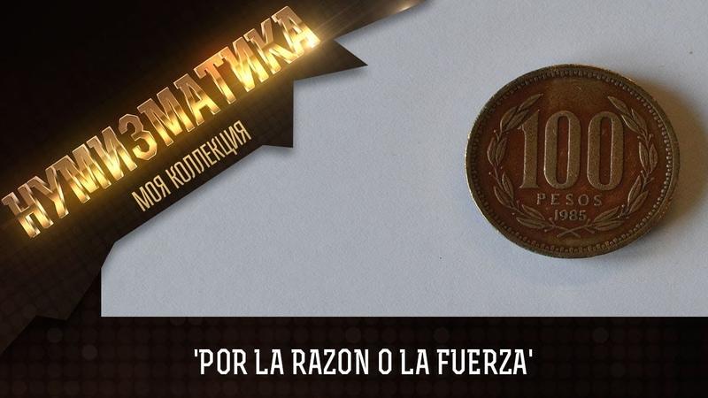 Чили 100 песо, 1985 Нумизматический обзор!