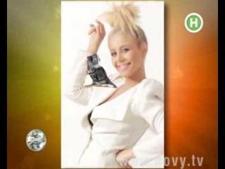 Tina Karol on Novy TV.