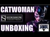 Batman Returns Catwoman Premium Format UNBOXING By Sideshow Collectibles